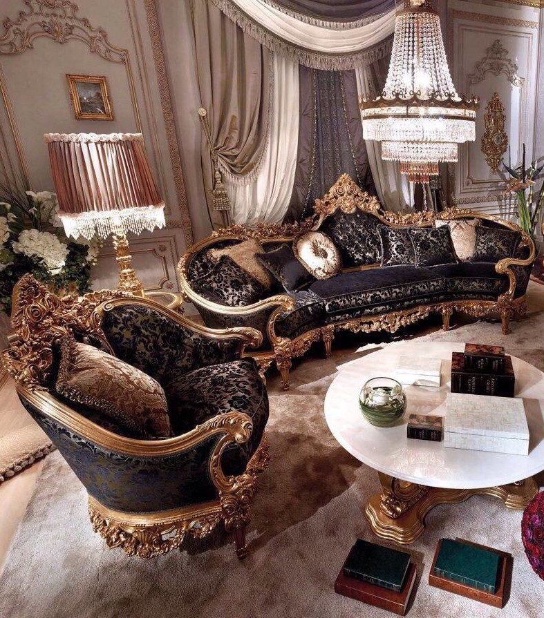 Belmoon Living Room By Asnaghi Interiors Classic Italian Furniture