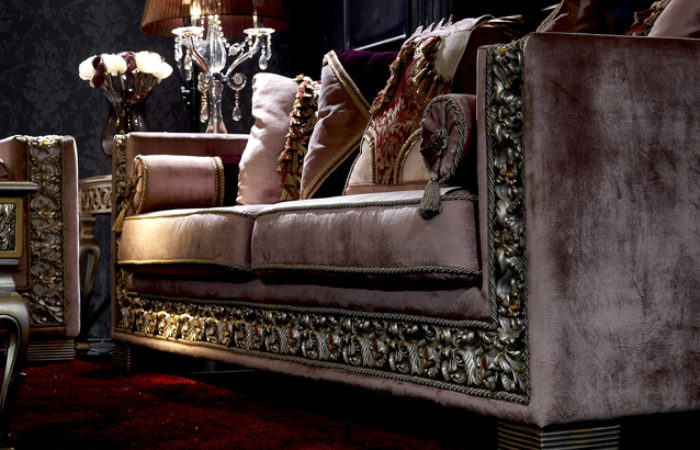 Living Room Of Italian Style Innovation Combined With Classical Carvingtop And Best Italian