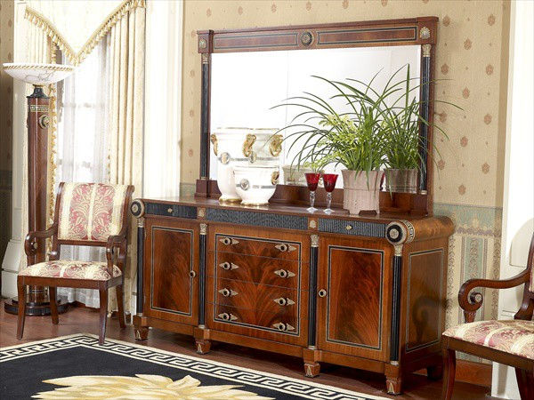 Empire Dining Room In Neoclassic Style Top And Best