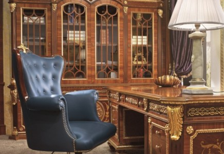 English Style Study Room Top And Best Italian Classic