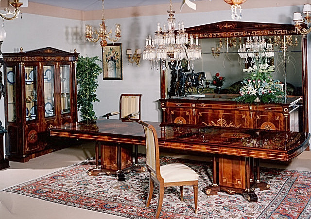 empire dining room furniture in spanish style top and