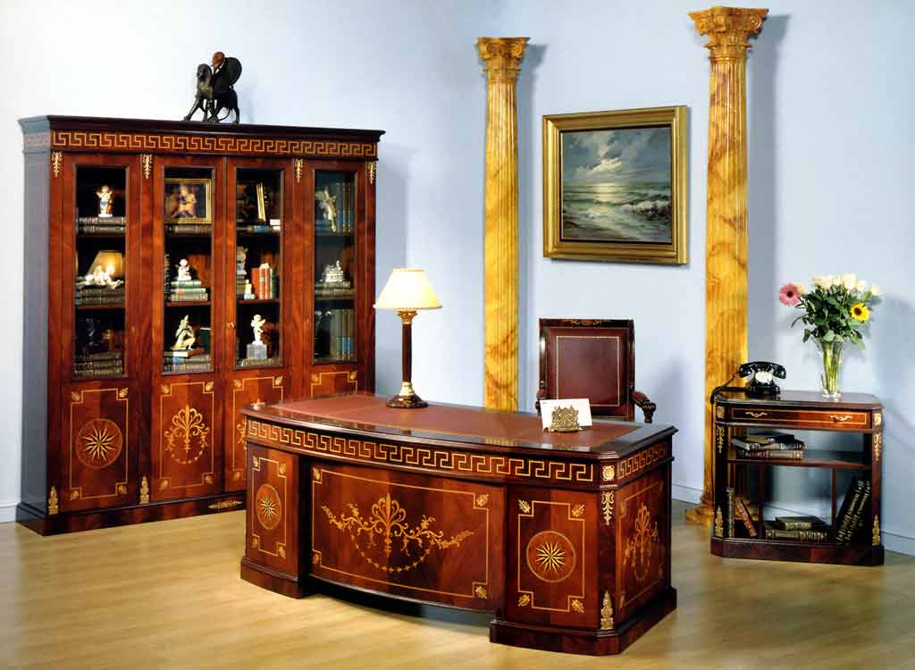 187 Imperial Office Room Furniture In Spanish Style Top And