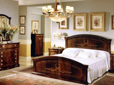Walnut Bedroom By Creaciones Royal Furniture , Bedroom Set In Spanish Style  Design