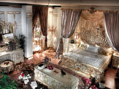 King Bedroom By Asnaghi Interiors , King Bed Room Royal Suite Enriched With  Gold Italian Finish