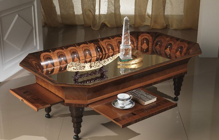 Tray classic coffee table in italian style top and best italian classic furniture Tuscan style coffee table