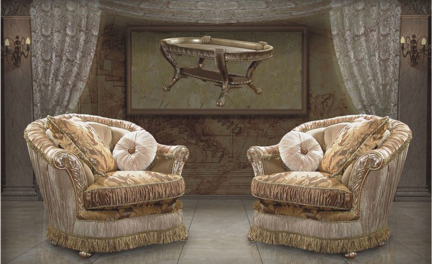 Classic Livingroom Furniture Sofa