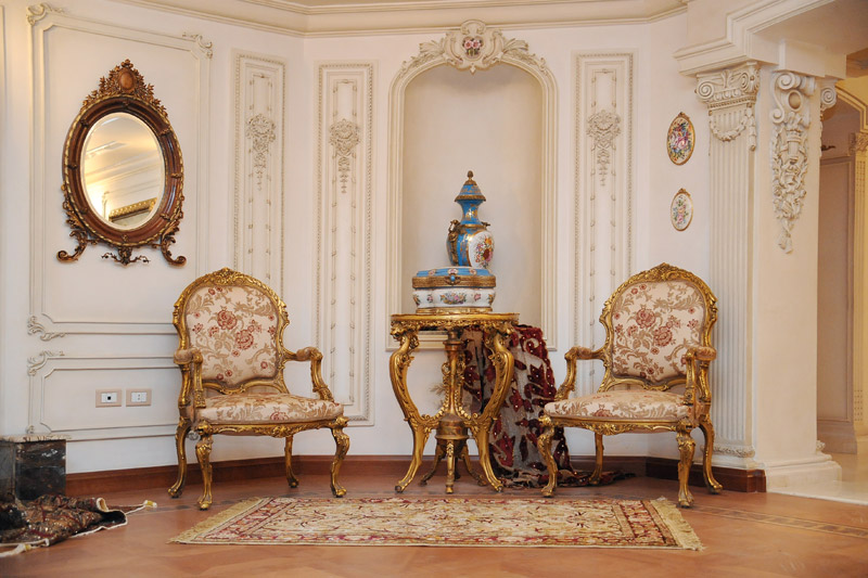 Mahmoud Badawey Villa Interior Design Project IdeaTop And Best Italian Classic Furniture
