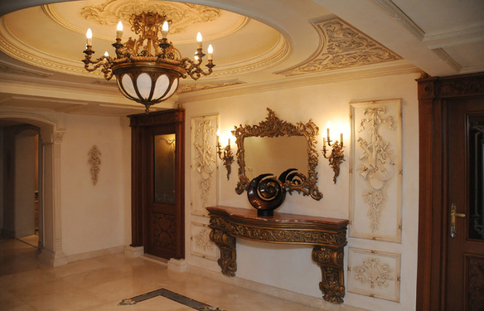 Mahmoud badawey villa interior design project ideatop for Classic villa interior design