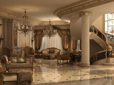 Interior Design Project Idea (2) For A Villa , Ashraf El Serafey Villa