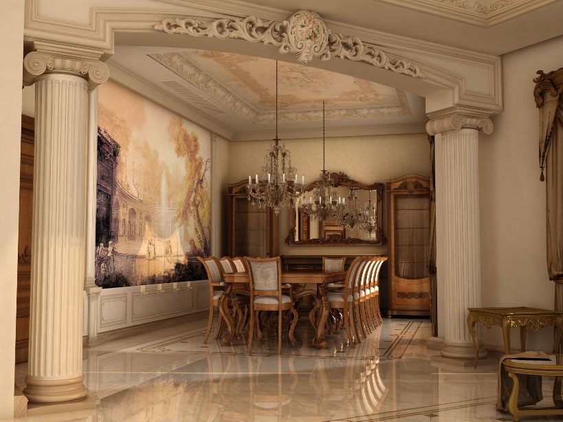 Interior Design Project Furniture Styles ~ Ashraf el serafey villa interior and exterior design