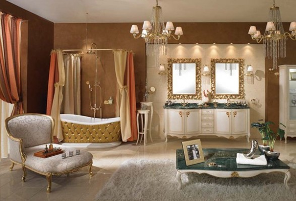 classic style bathroom design - Bathroom Design Ideas Italian