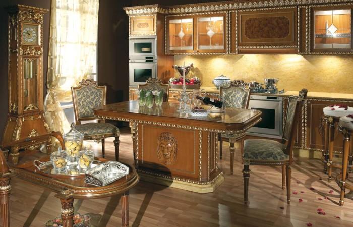 classical design kitchen