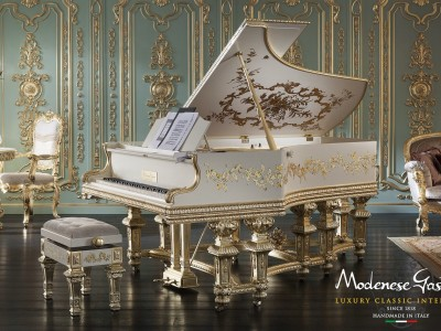 Italian Classic Piano Made In Italy Grand Classical By Modenese Gastone