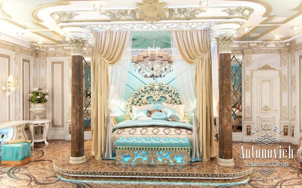 Master Bedroom For Luxury Royal Palaces Classic Italian Furniture