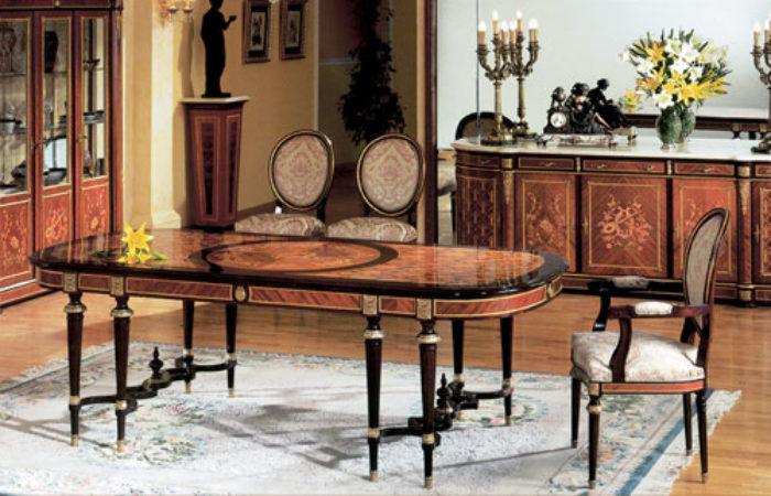 Spanish Louis Xvi Style Dining Roomtop And Best Italian Classic Furniture