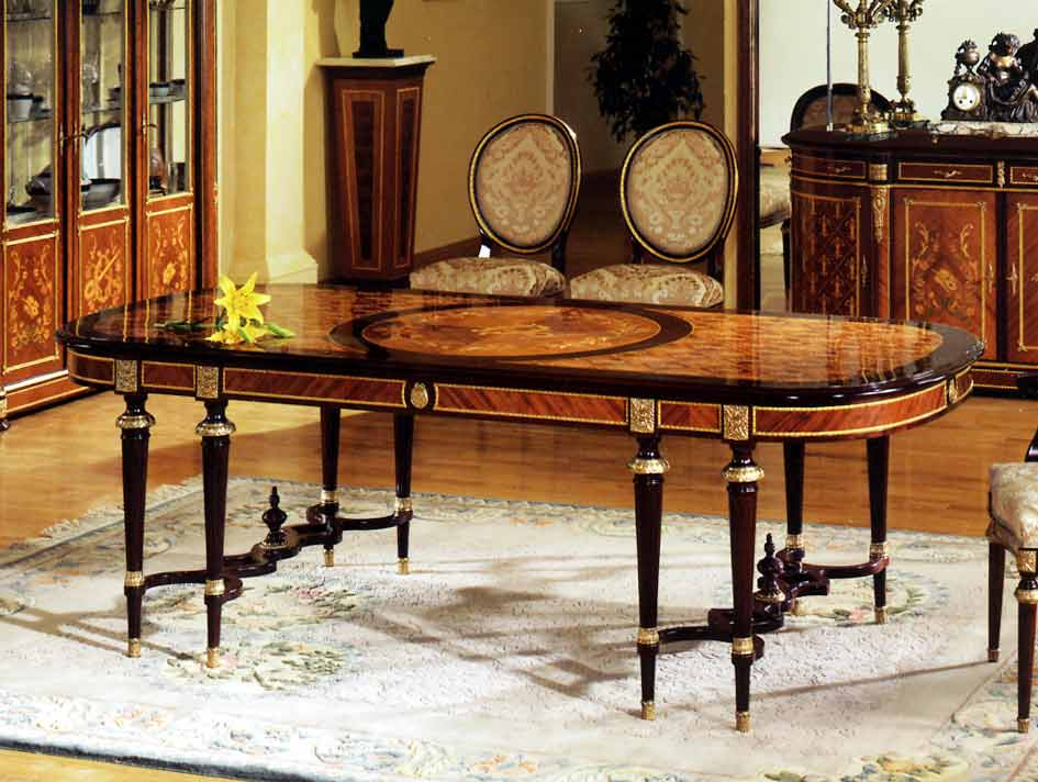 » Spanish Louis XVI Style Dining RoomTop And Best Italian Classic Furniture