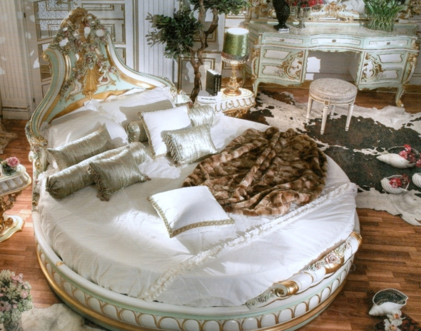 187 Italian Bed Room In Round Shapetop And Best Italian