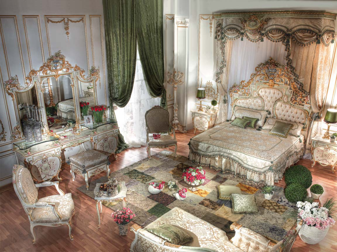 Royal Home Designs: » Top Crown BedroomTop And Best Italian Classic Furniture