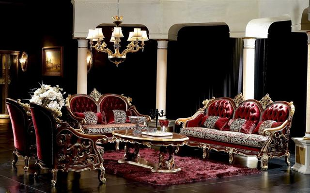 royal italian capitone living room victorian styletop. Black Bedroom Furniture Sets. Home Design Ideas