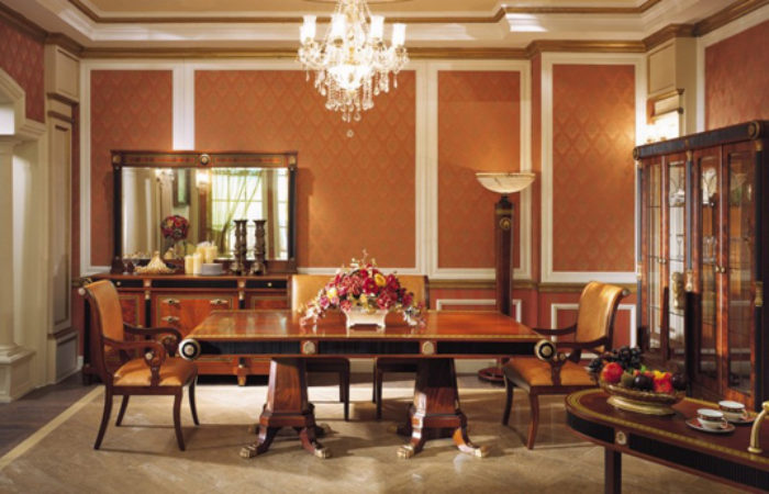 pics of dining room furniture | » Empire Dining Room in Neoclassic StyleTop and Best ...