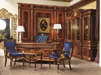 Medea Study Room By Carlo Asnaghi Style , Classic Office Room In English  Style