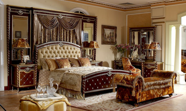 European Bedroom in Italian Style - Top and Best Classic Furniture