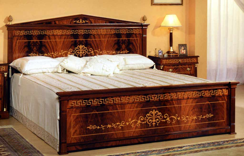 spanish bed room in empire styletop and best italian