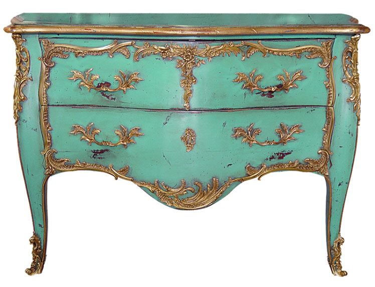 Very Louis XV Chest of Drawers ColorsTop and Best Italian Classic Furniture XH55
