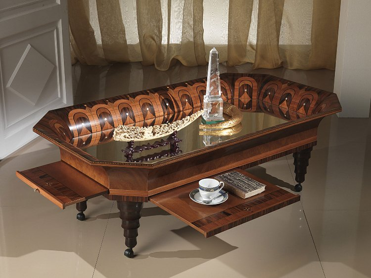 187 Tray Classic Coffee Table In Italian Styletop And Best