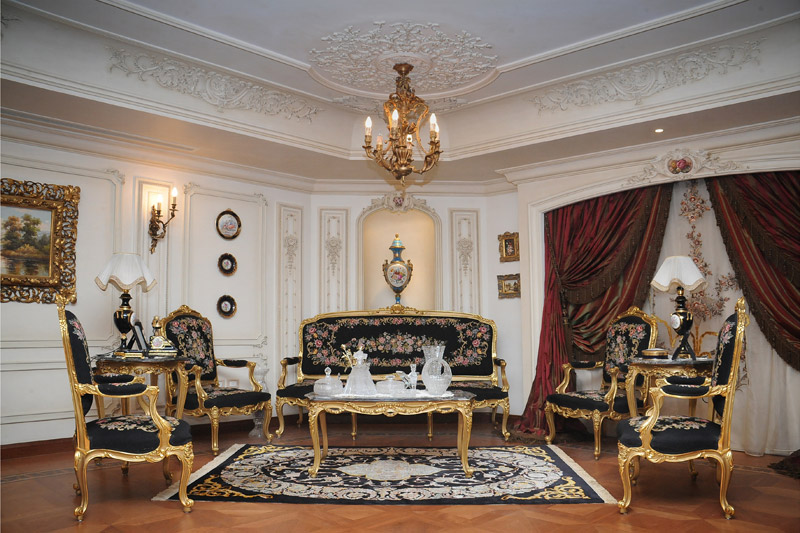 Mahmoud badawey villa interior design project ideatop for Victorian villa interior design