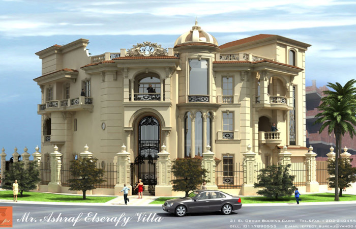 187 ashraf el serafey villa interior and exterior design