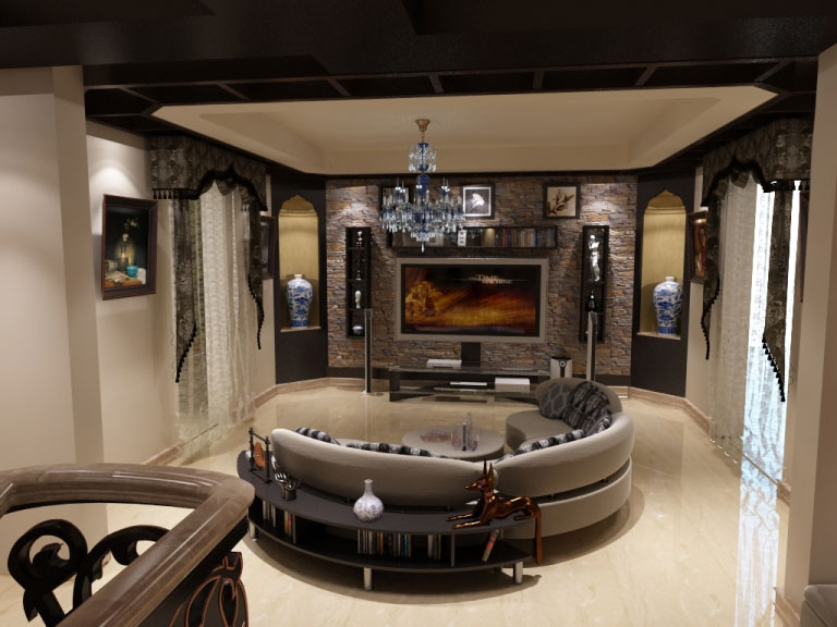 187 Ahmed Mekey Villa Interior Design Project Ideatop And