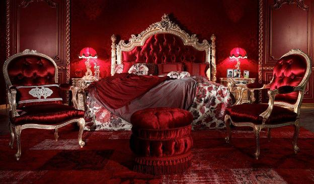 187 Classic Red Bedrooms By Asnaghi Interiors In Isaloni