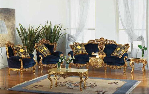 187 Victorian Gold Eolo Living Room Settop And Best Italian
