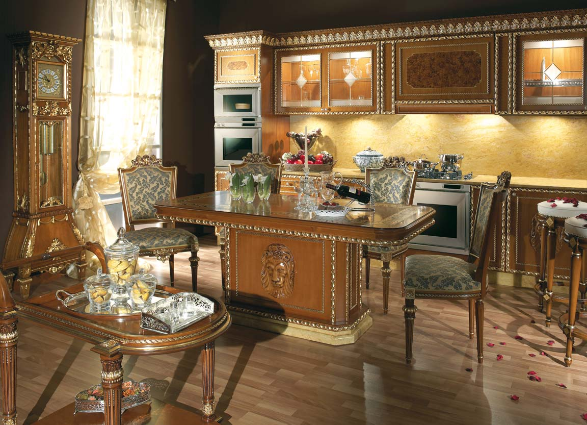 Interior Design Furniture: » Traditional Style Classic Italian KitchenTop And Best