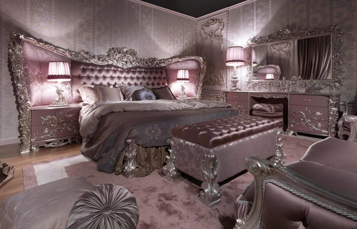 187 Carving Silver Italian Style Bedroomtop And Best Italian